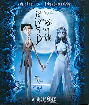 CORPSE BRIDE BY BURTON,TIM (Blu-Ray)